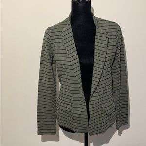 Dolan left coast Anthropologie striped blazer